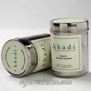 Травяной порошок Khadi Shikakai  (Для мытья волос) Shikakai powder khadi 150 г