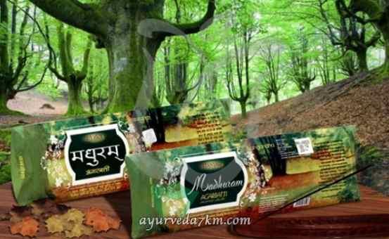 Благовония Лес 25 г Madhuram Agarbatti Vangandha Patanjali
