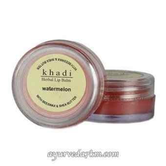 Бальзам для губ Арбуз Кхади -Herbal Lip Balm watermelon Khadi 10 гр