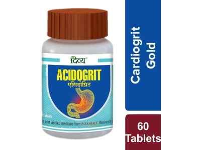 Ацидогрит 60 таб., Патанджали Acidogrit 60 tab., Patanjali