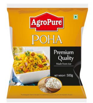 Рисовые хлопья Поха, Poha 500 грм