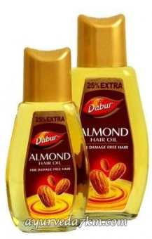 Миндальное масло для волос 125 мл, Дабур Almond Hair Oil 100 ml Dabur