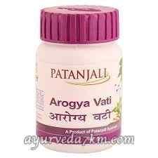 Арогья вати Arogya Vati, Patanjali 80 таб. Срок до 10-2020
