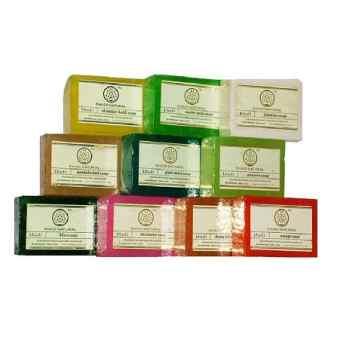 Набор мыла Травяной Кхади 11 шт (Herbal Soap set Khadi Natural)