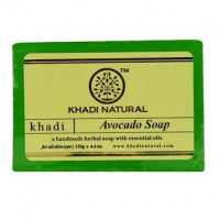 """Натуральное мыло """"Авокадо"""" 125 г, Кхади (Avocado soap Khadi)"""