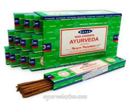 Благовоние Аюрведа 15 г, сатья (Ayurveda15 g, satya)
