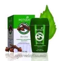 Очищающая Маска для лица Био Гвоздика 85 г, Биотик Bio Clove Face pack 85 g, Biotique скидка -Срок истек