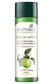 Шампунь Био Зеленое яблоко 120 мл Shampoo Bio Green apple 120ml, Biotique