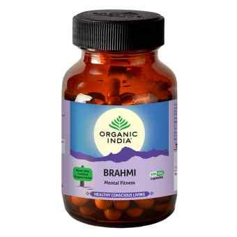 Брами 60 капс Органик Индия (Brahmi Organic India)