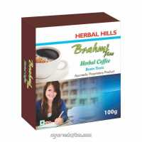 Хербал кофе Брами плюс100 гр Brahmi plus coffee Brain tonic Herbal Hills