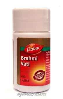 Брахми Вати Дабур 40 таблет Brahmi Vati Dabur