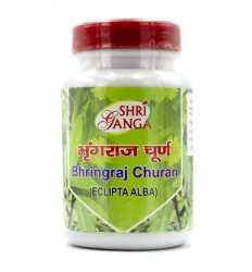 Брингарадж Чурна (Eclipta Alba) 100 г Bhringraj Churna ShriGanga