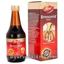 бронкорид сироп дабур 200 мл Broncorid Syrup Dabur