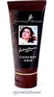 Шоколадный скраб с зернами кофе Shahnaz Husain Chocolate coffee Bean scrub
