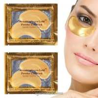 Коллагеновые патчи под глаза Crystal Collagen Gold Powder Eye Mask (Китай)