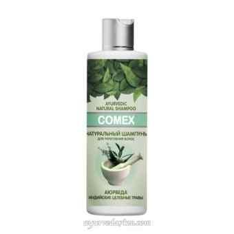 Аюрведический шампунь для укрепления волос из индийских трав Comex 250 мл