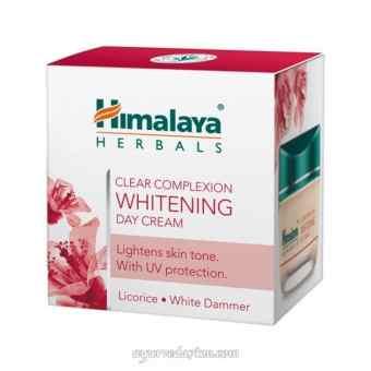 Осветляющий дневной крем, 50 г, Хималая (Whitening Day Cream, 50 g, Himalaya)