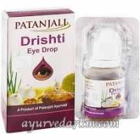 Глазные капли Дришти Патанжали Drishti eye drop, Patanjali 15 мл