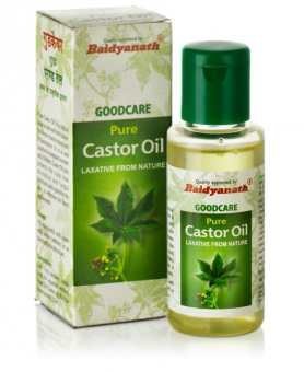 Масло касторовое 50 мл, Гудкэер (Бэйдэнат)  (Castor Oil 50 ml, Goodcare Baidyanath)