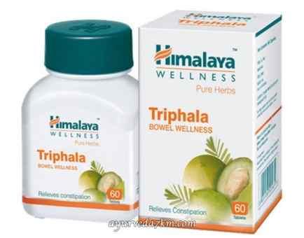 Трифала 60 таб Triphala Himalaya