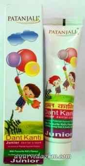 Детская зубная паста Patanjali  Dant Kanti Junior 100 г