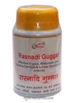Раснади Гуггул 50 г-Rasnadi Guggul Shriganga