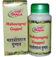 Махайогарадж гуггул 50 г -Mahayograj Guggulu Shriganga