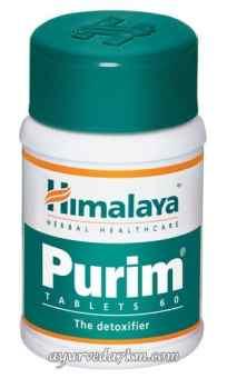 Пьюрим, 60 таб (чистота Вашей кожи изнутри) Purim Himalaya