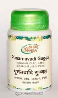 Пунарнавади Гуггулу 50г Punarnavadi Guggul Shriganga