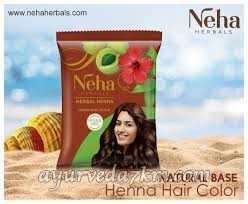 Коричневая хна для волос Neha Henna Brown 20 гр