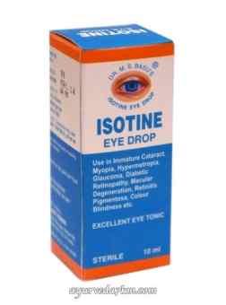 Глазные Капли Айсотин -Isotine eye drop 10 мл