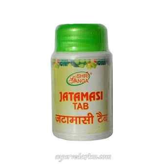 Джатаманси, помощь нервной системе Шри Ганга (Jatamasi Tab Shri Ganga) 60 таб