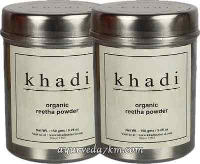 Травяной порошок Khadi Reetha  (Для мытья волос) Khadi Reetha Powder 150 г