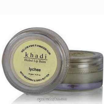 бальзам для губ Личи Кхади Herbal Lip Balm Lychee Khadi 10 гр