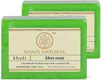"""Натуральное мыло """"Кхус (ветивер)"""" 125 г, Кхади (Khus soap Khadi)"""
