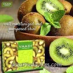Экзотическое мыло с киви 75 г, Ваади (Kiwi Soap 75 g, Vaadi Herbal)