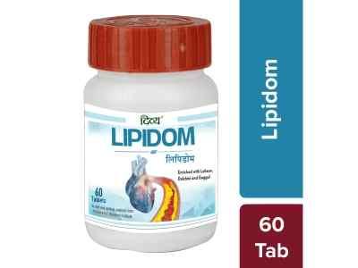 Липидом Патанджали 60 таб  Divya Lipidom 60 tab