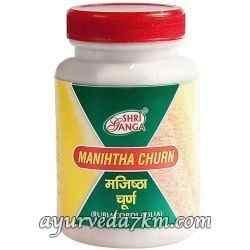 Манджишта Чурна 100 г - Manjishta churna ShriGanga