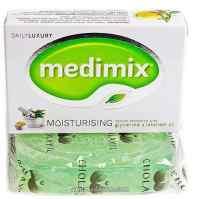Аюрведическое мыло Медимикс с глицерином и маслом Лакшади 125 г Medimix Soap With Glycrine