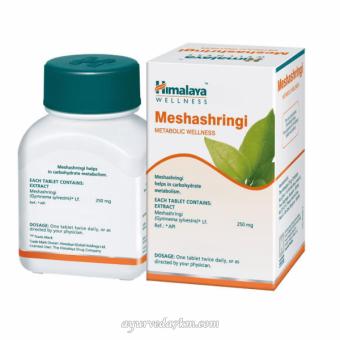 Мешашринги (Gymnema Silvestre) 60 капсул -Meshashringi Himalaya