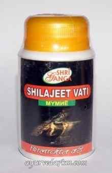 Шиладжит вати №150 Шириганга -Shilajeet Vati ShriGanga
