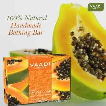 Мыло Vaadi папайя, 75 гр (Fresh Papaya Soap Vaadi)