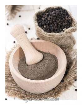 Порошок чёрный Перец Black pepper 100 гр TRS