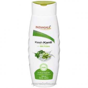 Травяной Шампунь для волос Кеш Канти 200 мл -Kesh Kanti Milk Protein 200 ml Patanjali
