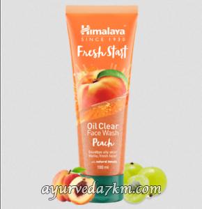 Гель для умывания с персиком 100 мл (Fresh Start Oil Clear Peach Face Wash Himalaya)