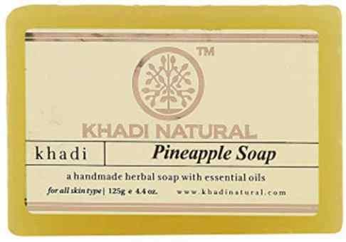 """Натуральное мыло """"Ананас"""" 125 г, Кхади Pineapple Soap Khadi"""