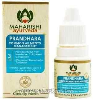 Прандхара, обезболивающие капли, 3 мл, Махариши Аюрведа (Prandhara, 3 ml, Maharishi Ayrveda)