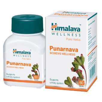 Пунрнава 60 таб -лечение инфекций-Punrnava Himalaya 60 Tab
