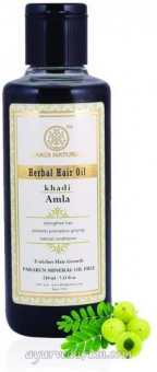 Травяной масло для волос Khadi Амла 210 мл Pure Amla Hair Oil 210 ml Khadi