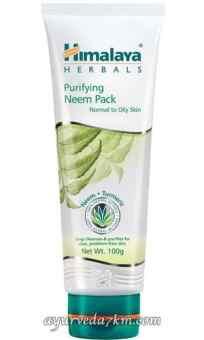 Антибактериальная очищающая маска с нимом Himalaya Herbals Purifying Neem Mask 100 мл